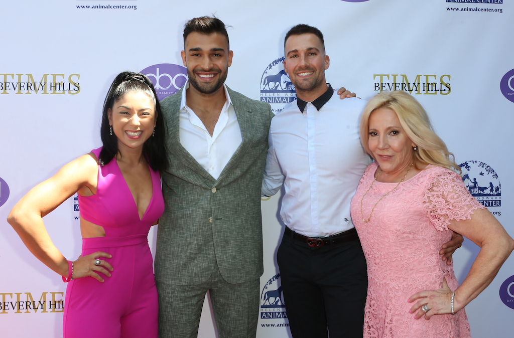 Pamela Price, Sam Asghari, James Maslow